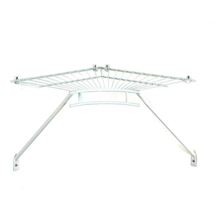ClosetMaid 18-in W x 2.25-in H x 18-in D Wire Wall Mounted Shelving