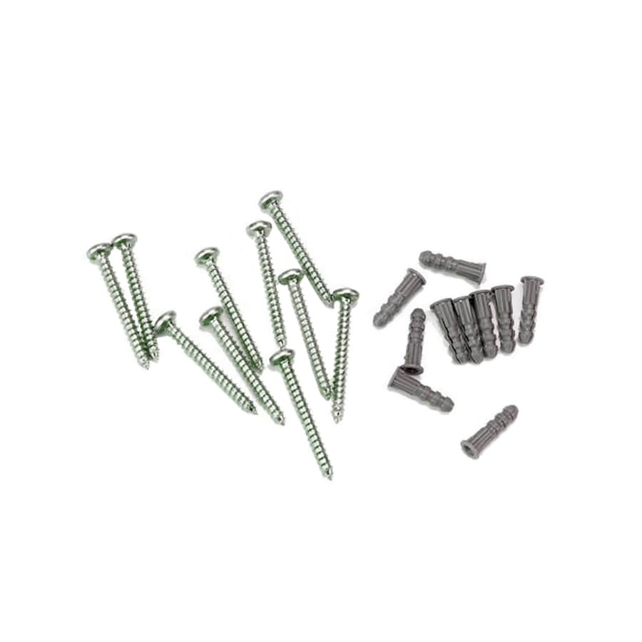 ClosetMaid 10-Pack-in Grey Screws Shelving Hardware