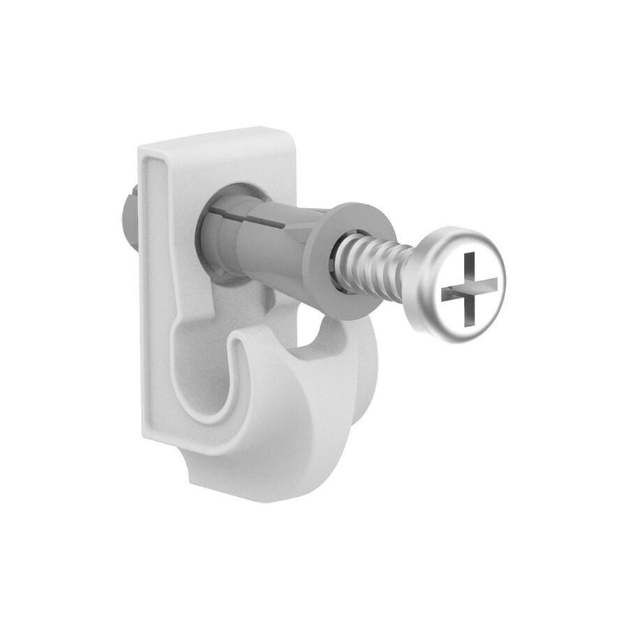 ClosetMaid 1-Pack-in Metallic Rectangle Shelving Hardware