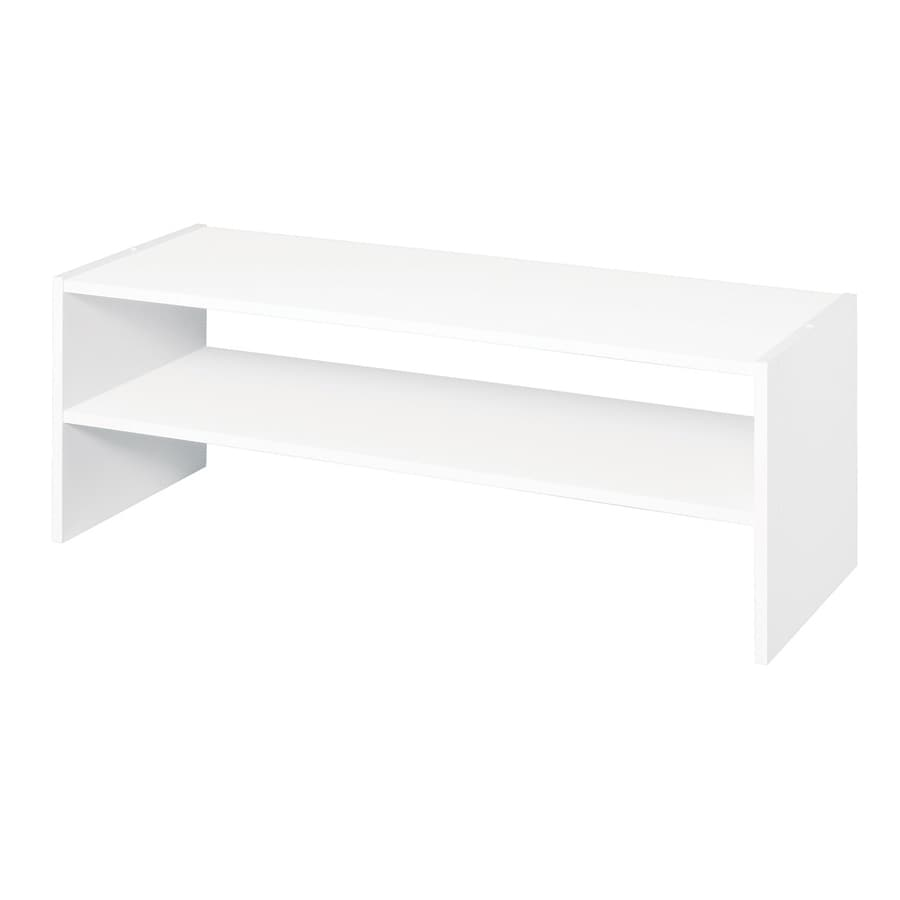 ClosetMaid 31-in White Laminate Stacking Storage