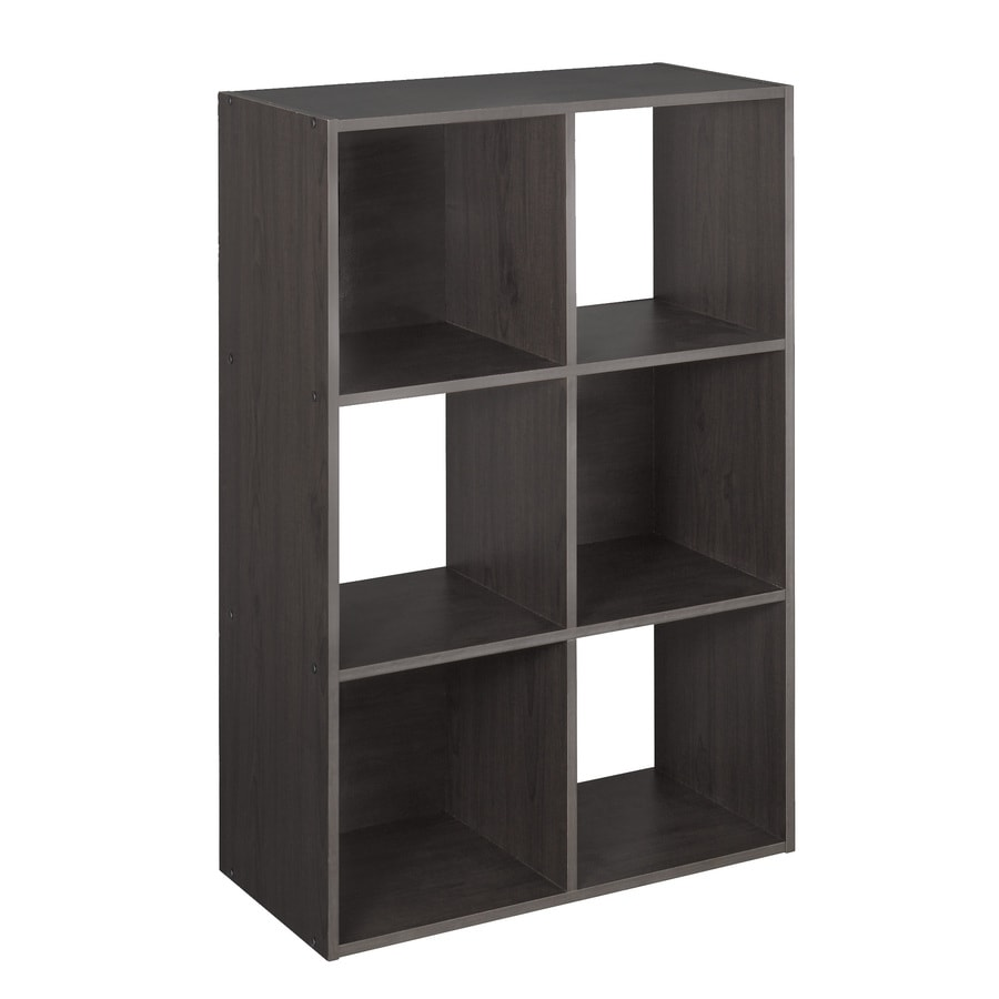 Shop closetmaid 6 espresso laminate storage cubes at lowes com
