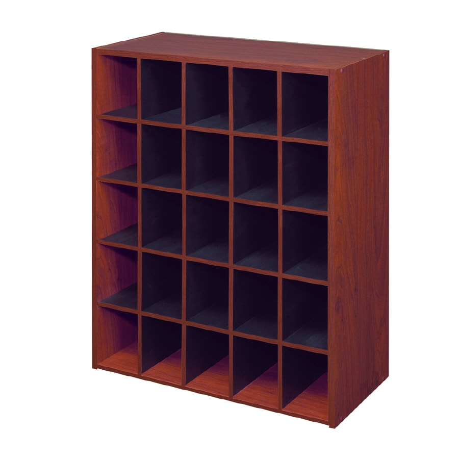ClosetMaid 25 Cherry Laminate Storage Cubes