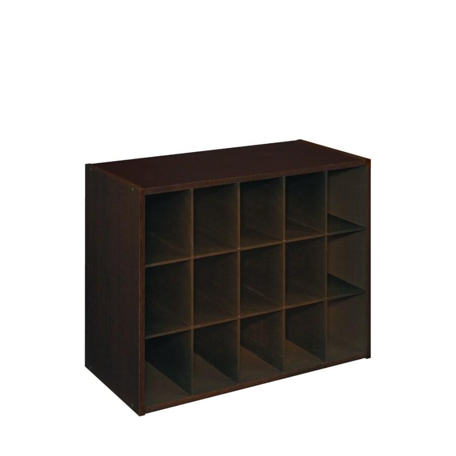 ClosetMaid 15 Espresso Laminate Storage Cubes
