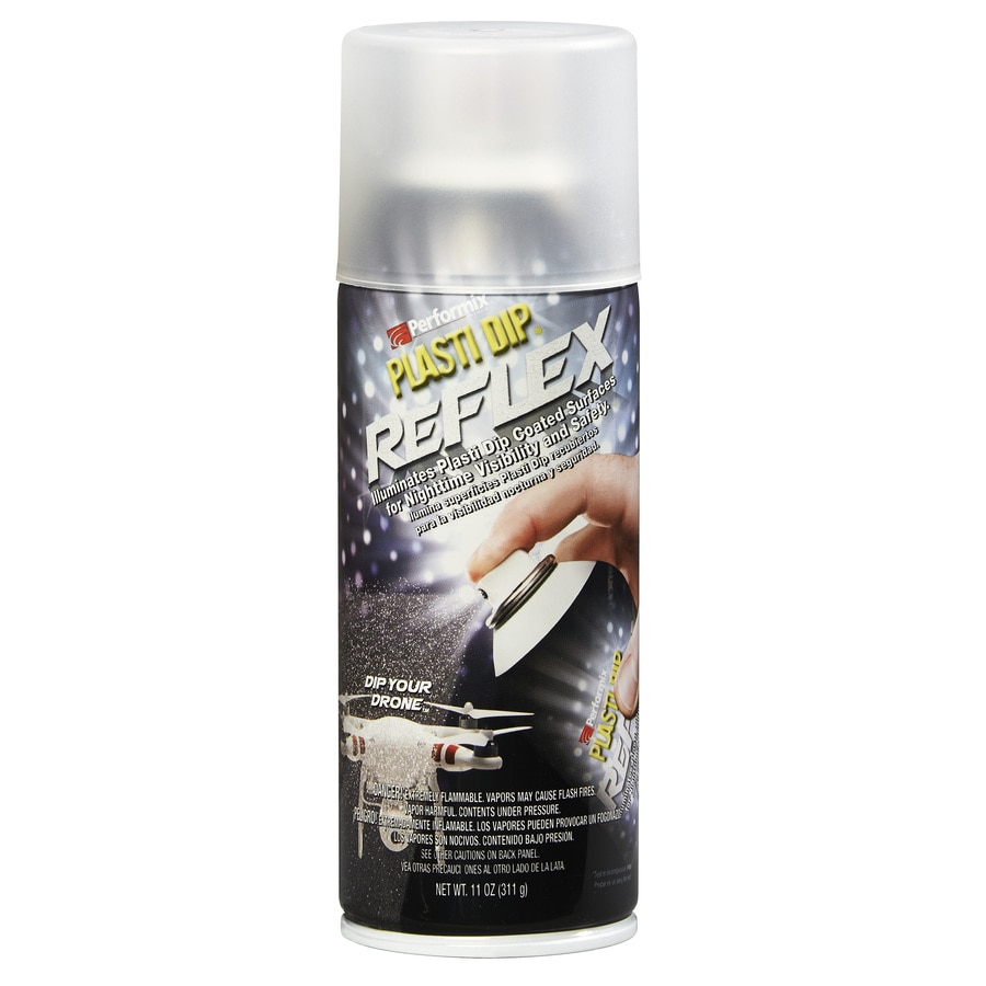 Shop Plasti Dip Clear Reflective Spray Paint Actual Net Contents 11 Oz At