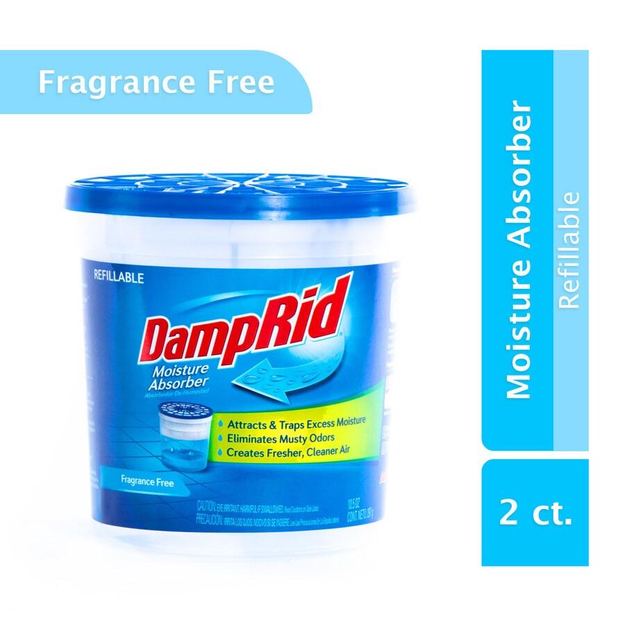 DampRid 2-Pack Refillable Moisture Absorber