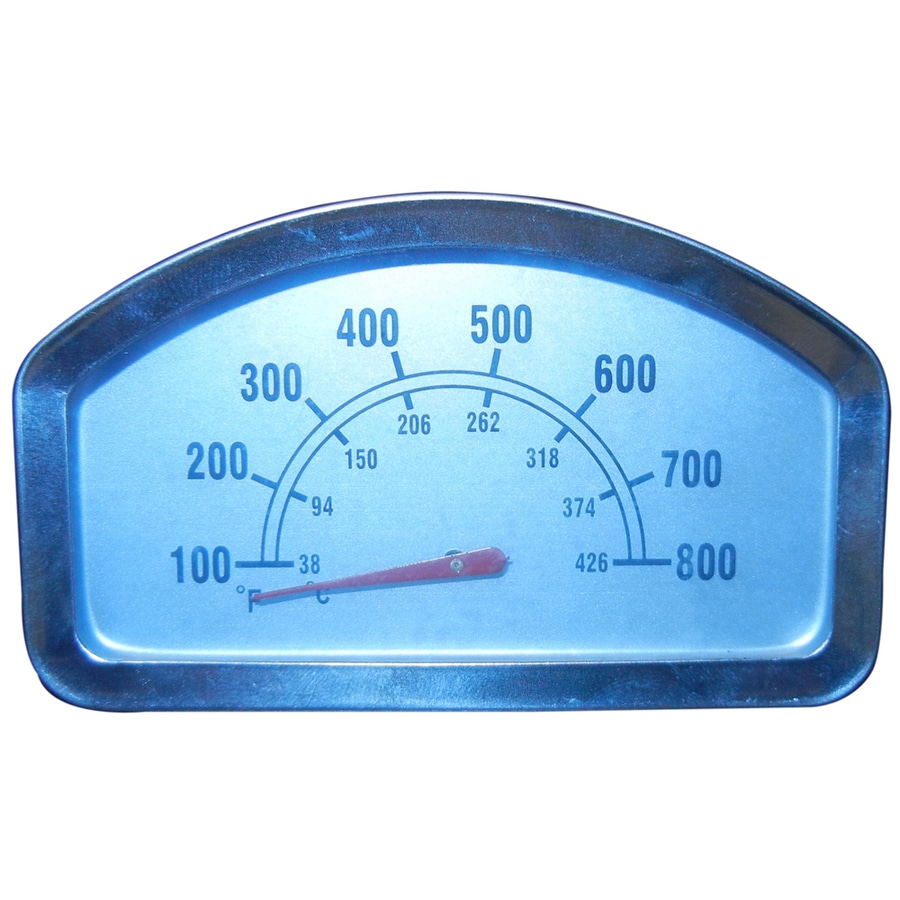 Shop Heavy Duty Bbq Parts Rectangle Grill Thermometer At