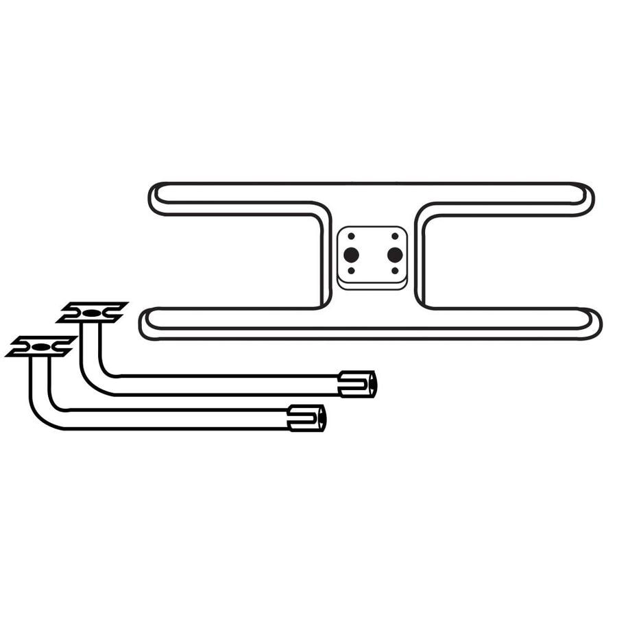 Heavy Duty BBQ Parts 19.5-in Stainless Steel Bar Burner