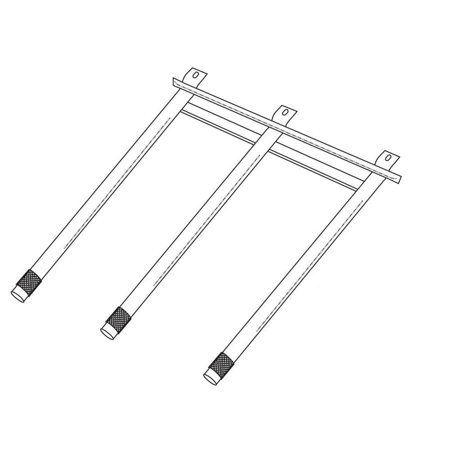 Heavy Duty BBQ Parts 18-in Stainless Steel Tube Burner