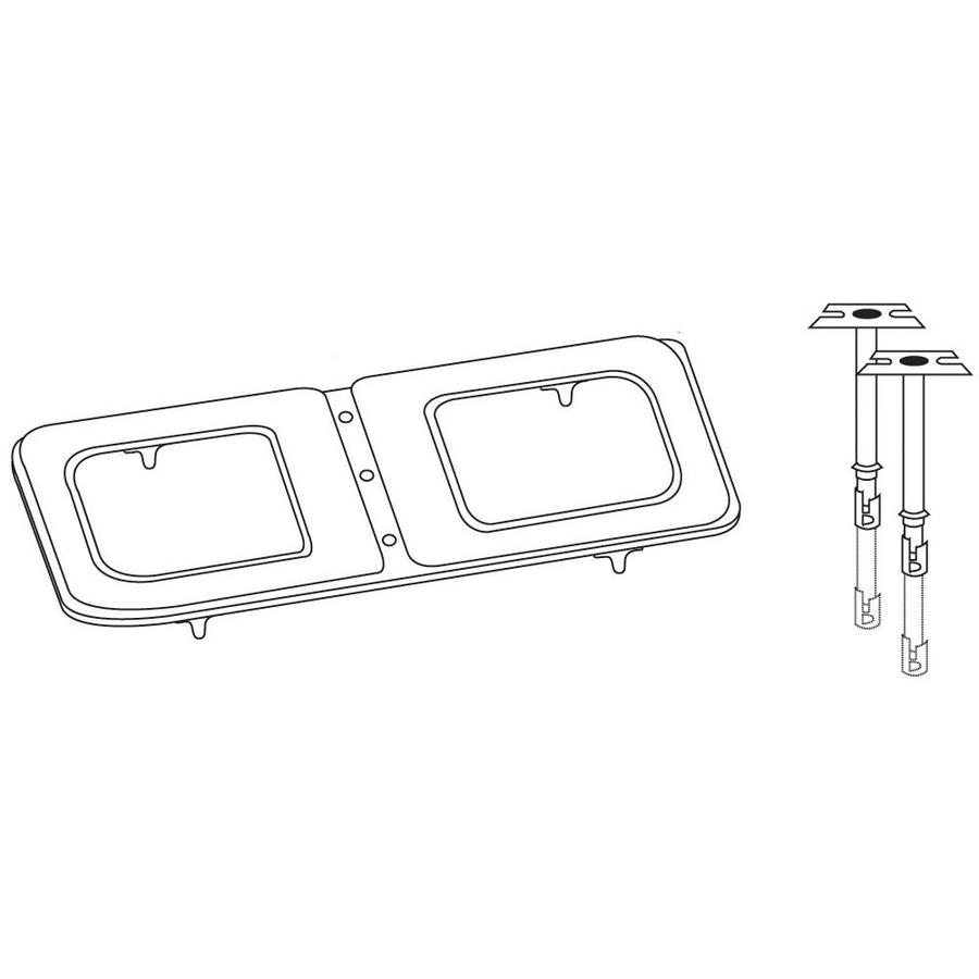 Heavy Duty BBQ Parts 20-in Stainless Steel Bar Burner