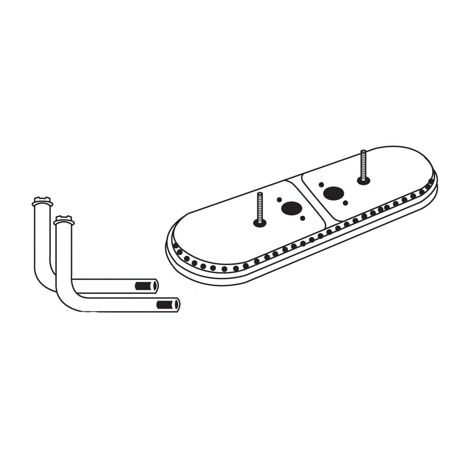 Heavy Duty BBQ Parts 14.75-in Stainless Steel Bar Burner