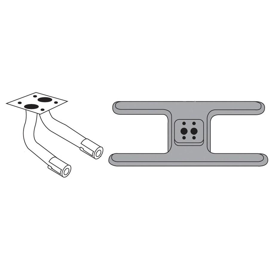 Heavy Duty BBQ Parts 15.875-in Cast Iron Bar Burner