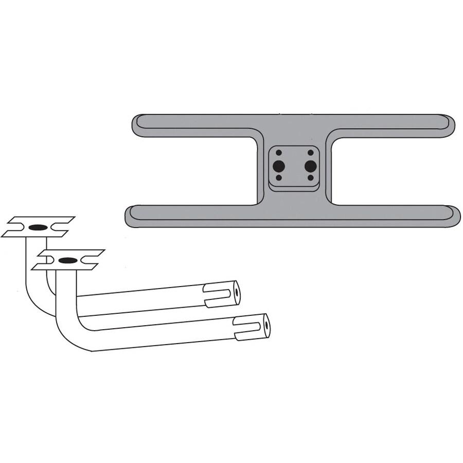 Heavy Duty BBQ Parts 19.5-in Cast Iron Bar Burner