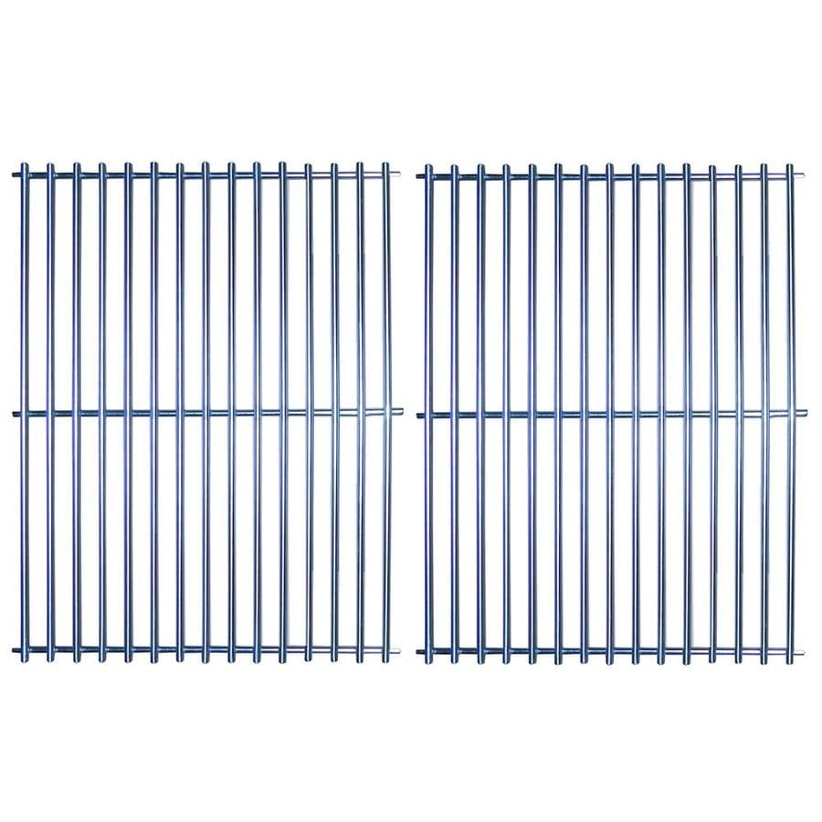Heavy Duty BBQ Parts 2-Pack Rectangle Stainless Steel Cooking Grates