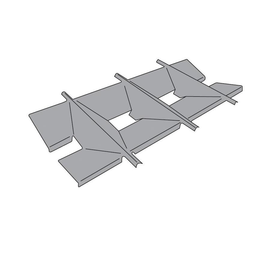 Heavy Duty BBQ Parts Porcelain-Coated Steel Heat Plate
