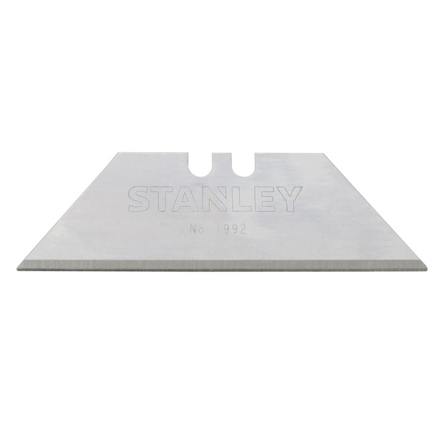 Stanley 5-Pack 2-7/16-in Carbon Steel Straight Replacement Utility Blade