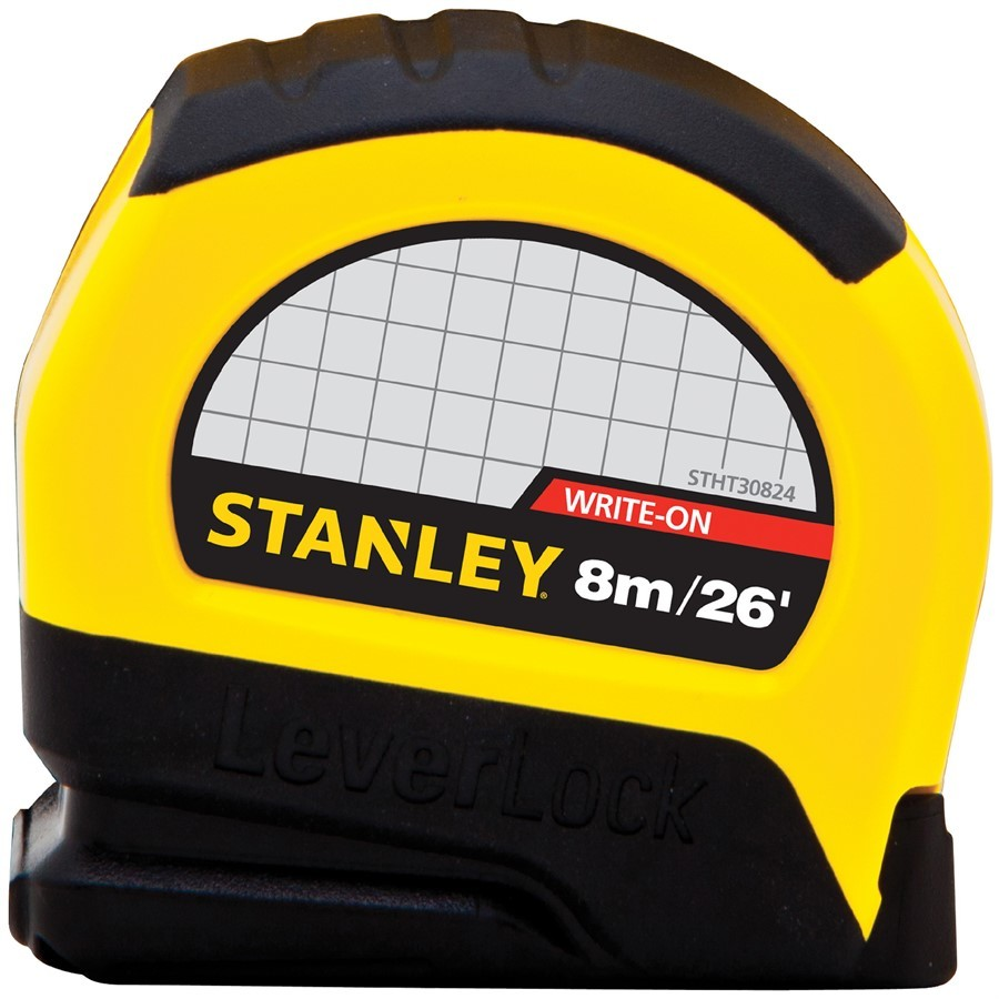Stanley 26-ft Locking Inches Tape Measure