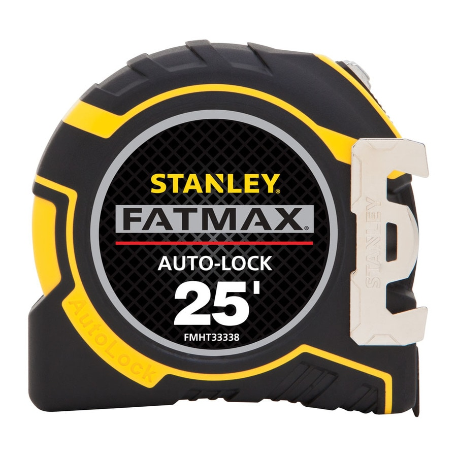 Stanley FATMAX 25-ft Locking SAE Tape Measure
