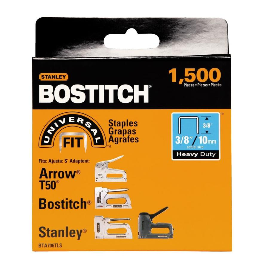 Bostitch 1,500-Count 3/8-in Construction Staples