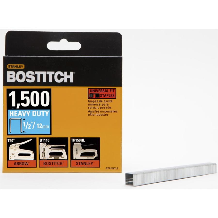 Bostitch 1,500-Count 1/2-in Construction Staples