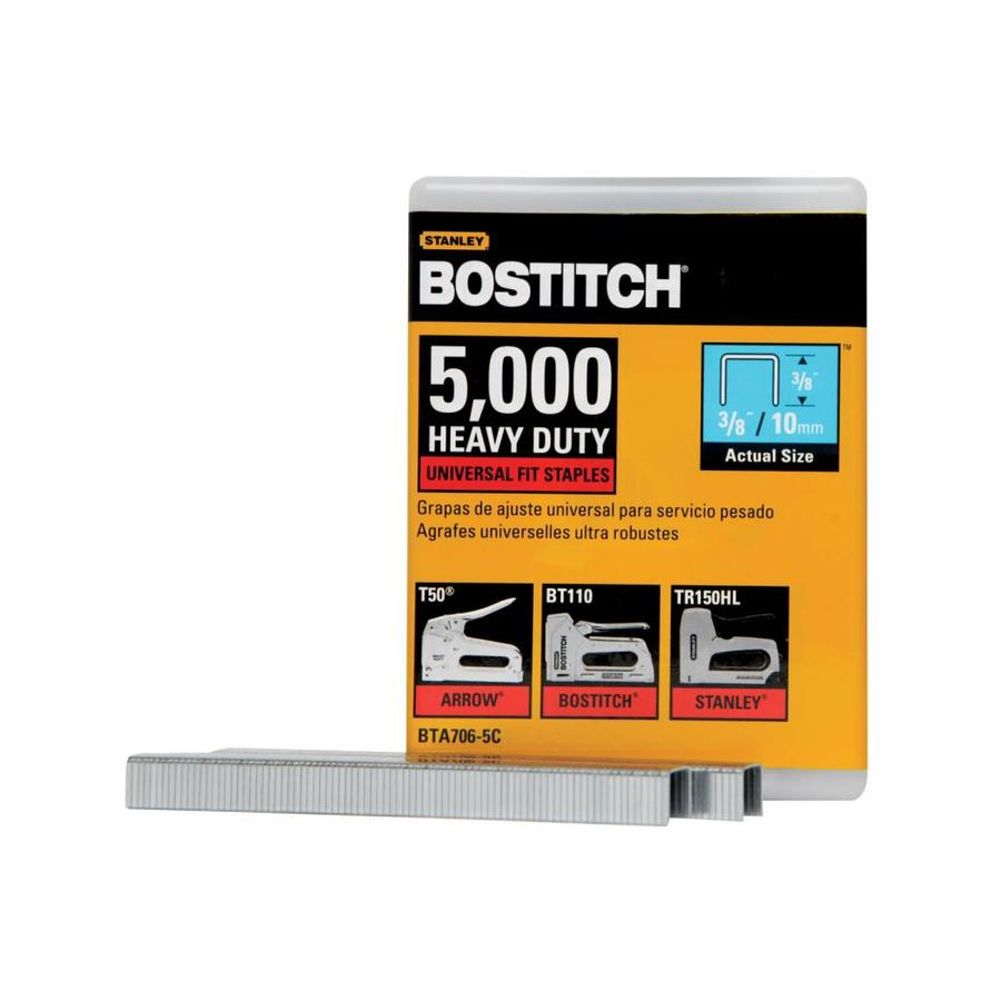 Bostitch 5,000-Count 3/8-in Construction Staples