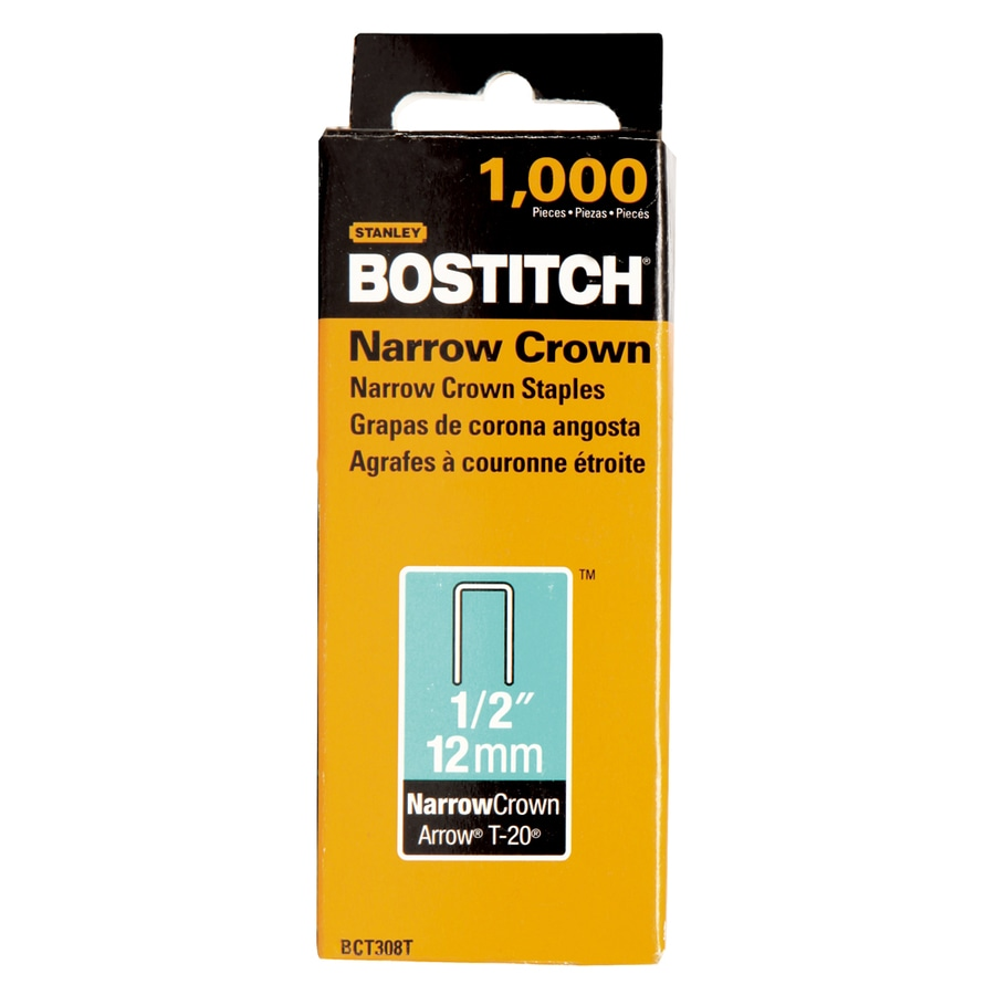 Bostitch 1,000-Count 1/2-in General Purpose Staples