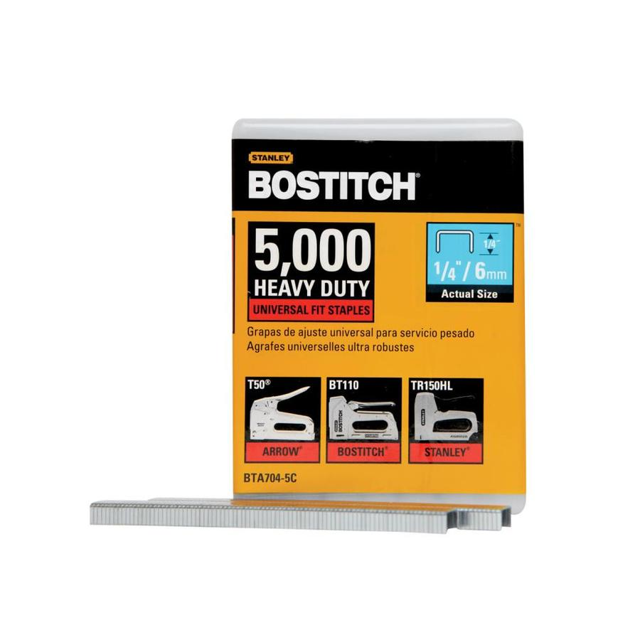 Bostitch 5,000-Count 1/4-in Light-Duty Staples