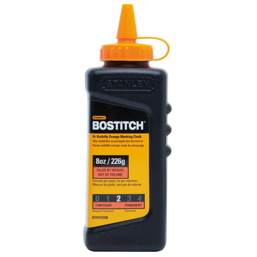Bostitch 8 oz Orange Chalk