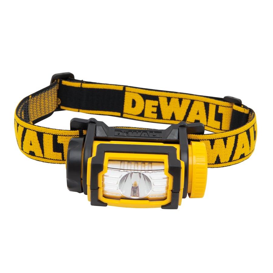 DEWALT 104-Lumen LED Headlamp Battery Flashlight