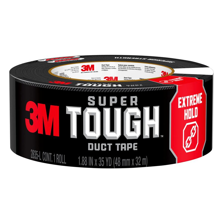 Scotch 1.88-in x 105-ft Black Duct Tape