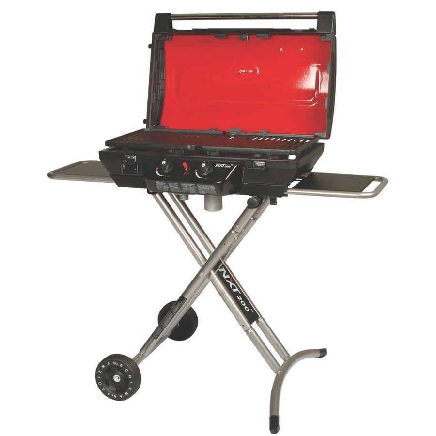 Coleman Red 20,000-BTU 321-sq in Portable Gas Grill