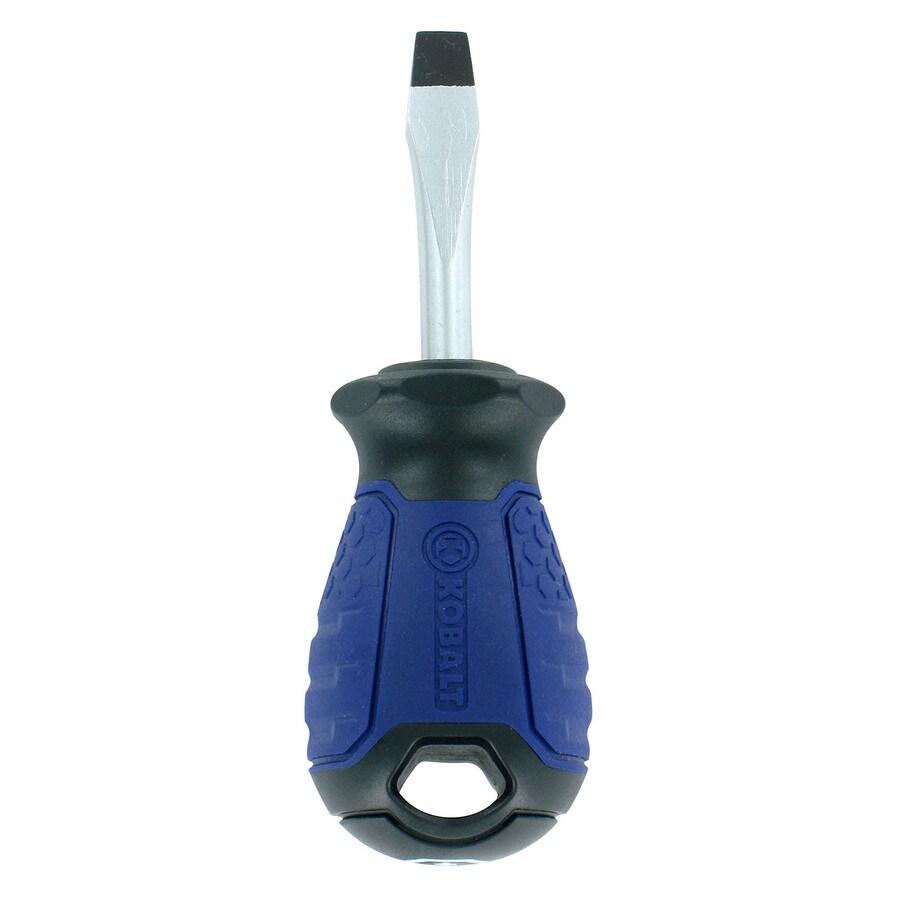 Kobalt 1/4-in Flat Tip x 1.5-in Flat Screwdriver