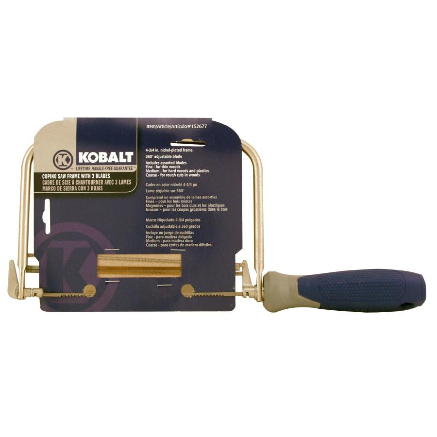 Kobalt 6-in Coping Saw