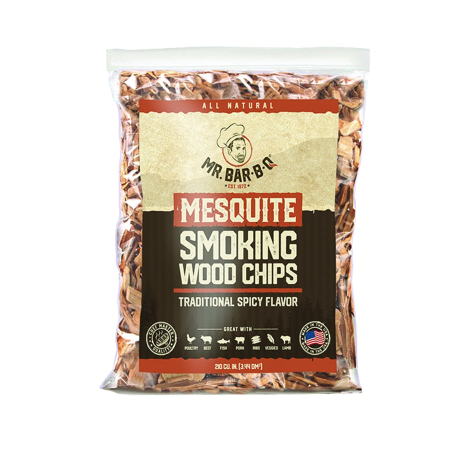 Mr. Bar-B-Q 2-Pack 4-cu in Mesquite Wood Chips