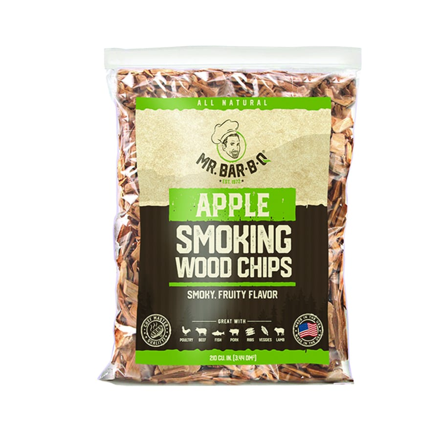 Mr. Bar-B-Q 2-Pack 4-cu in Apple Wood Chips