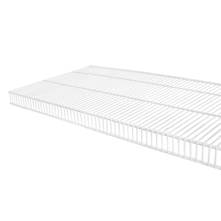Rubbermaid TightMesh 6-ft L x 16-in D White Wire Shelf