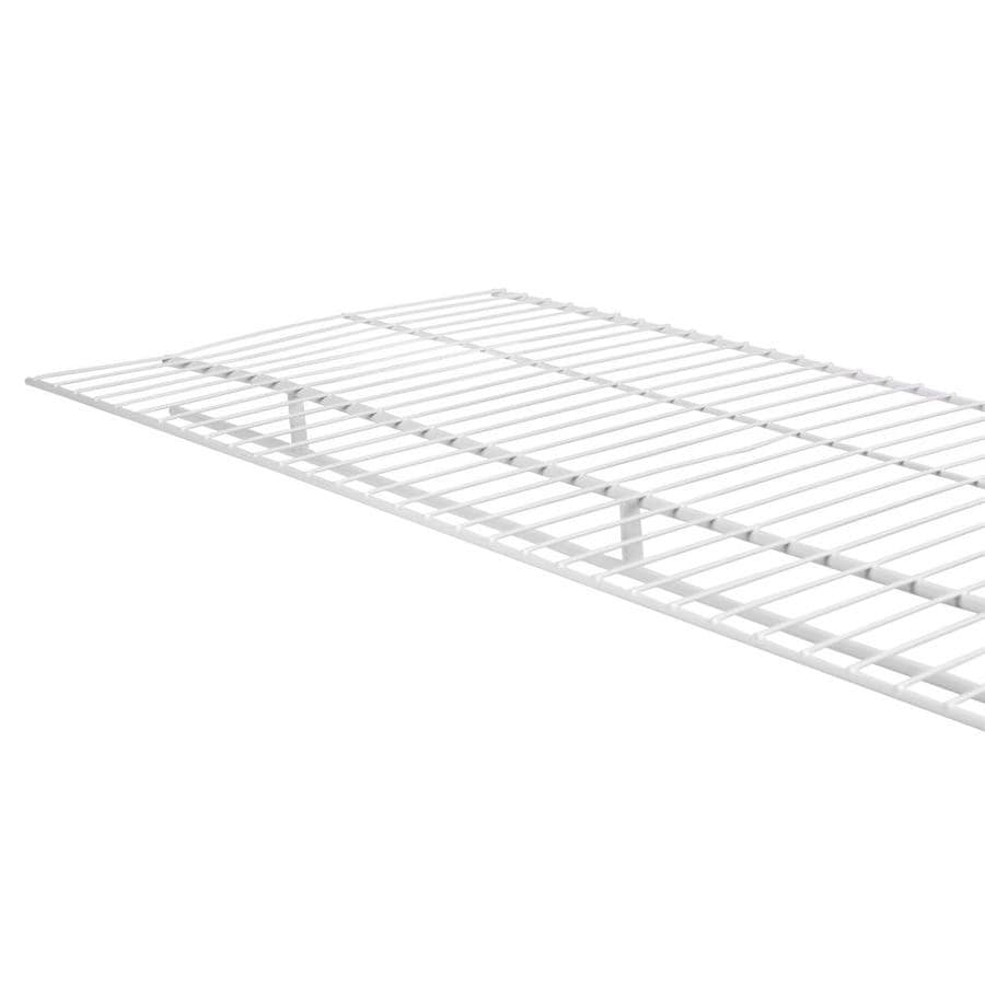 Rubbermaid Wardrobe 6-ft L x 16-in D White Wire Shelf