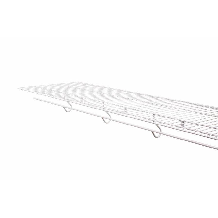 Rubbermaid FreeSlide 4-ft L x 16-in D White Wire Shelf