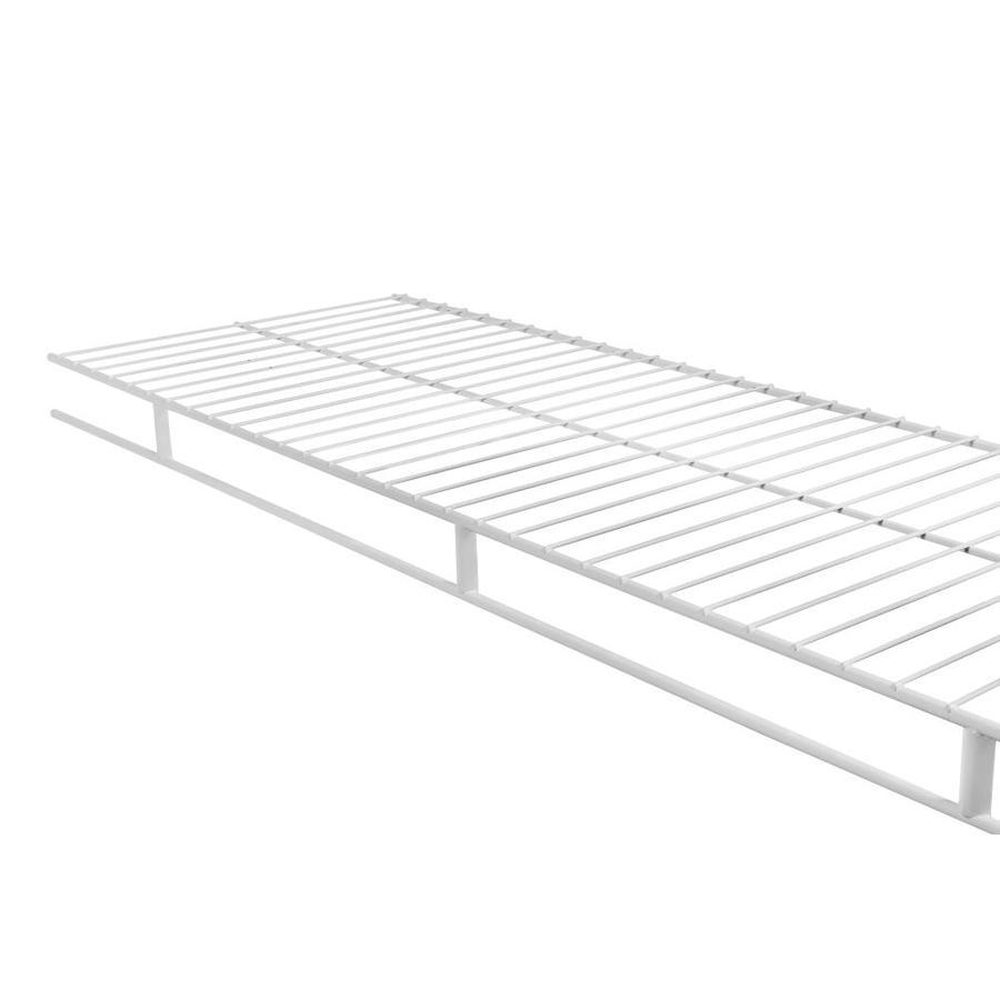 Rubbermaid Wardrobe 8-ft L x 12-in D White Wire Shelf