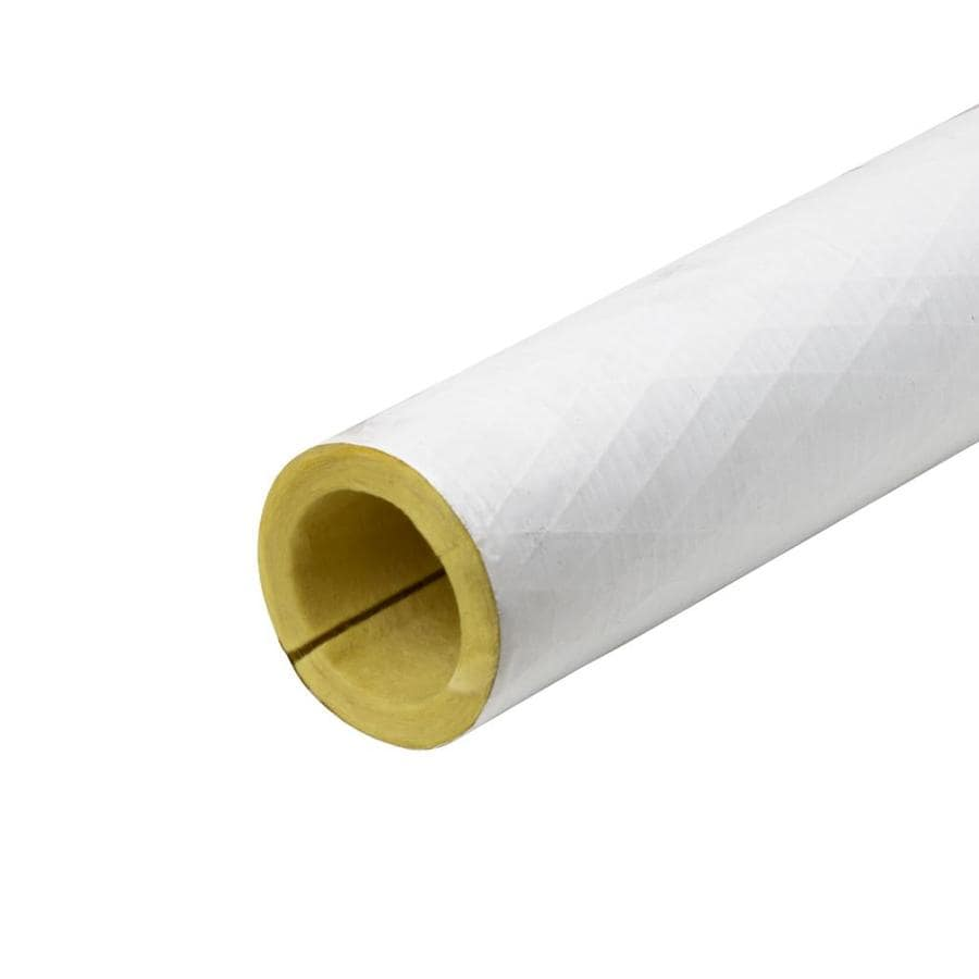 Frost King 2-in x 3-ft Fiberglass Plumbing Tubular Pipe Insulation