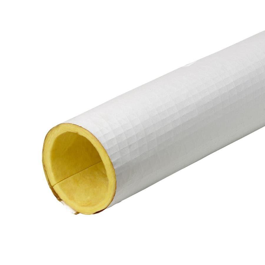 Frost King 3-in x 3-ft Fiberglass Plumbing Tubular Pipe Insulation