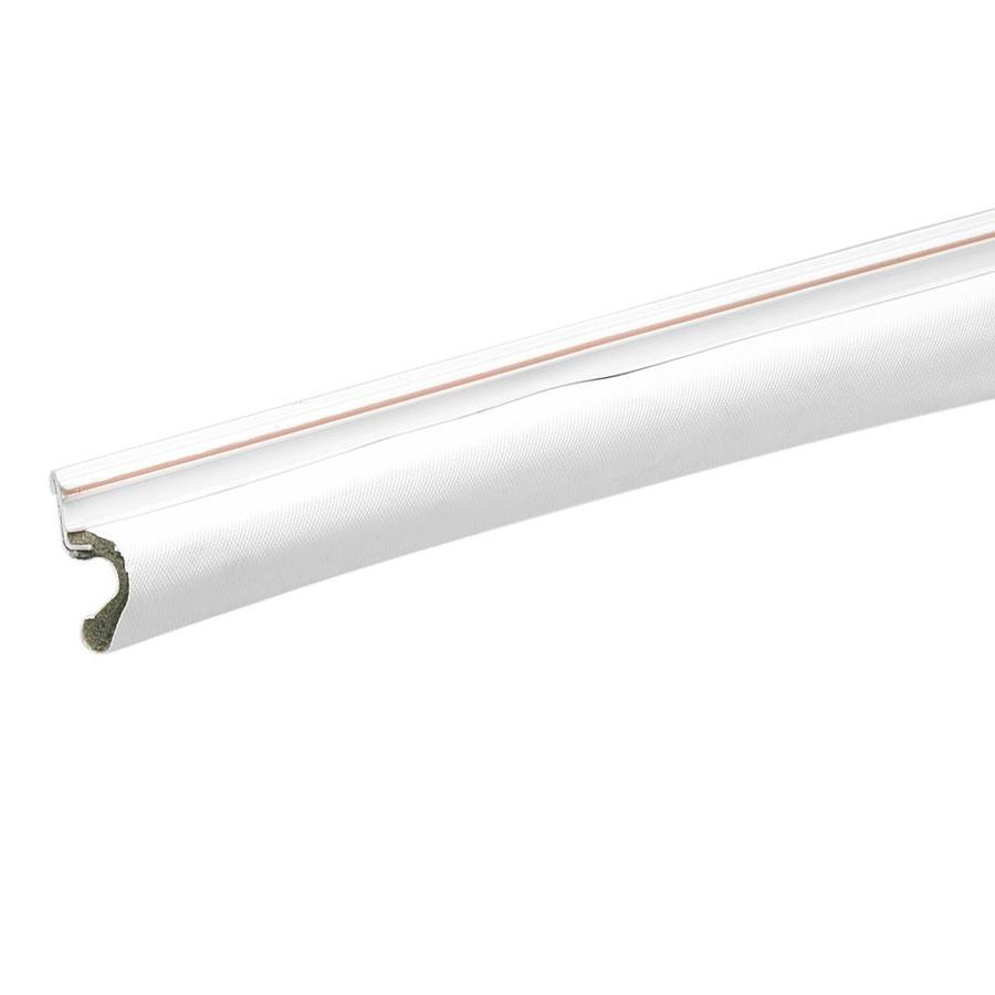 Frost King 1-in x 7-ft White PVC Door Weatherstrip