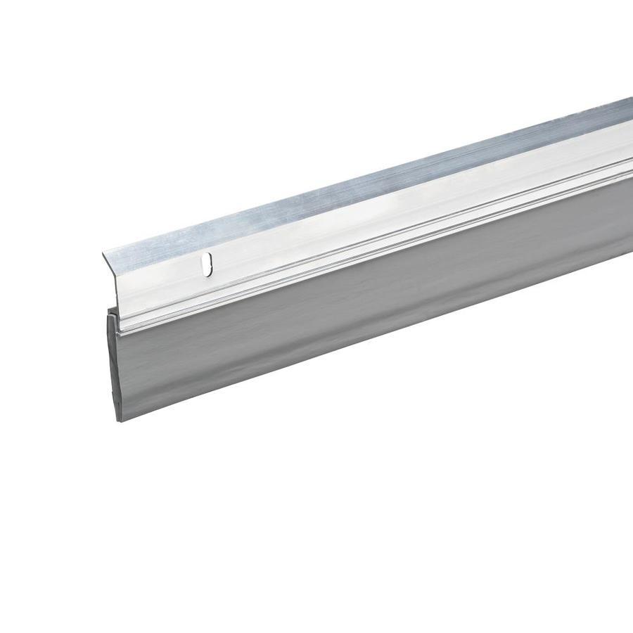 Frost King 1.625-in x 3-ft Silver Aluminum/Vinyl Door Weatherstrip