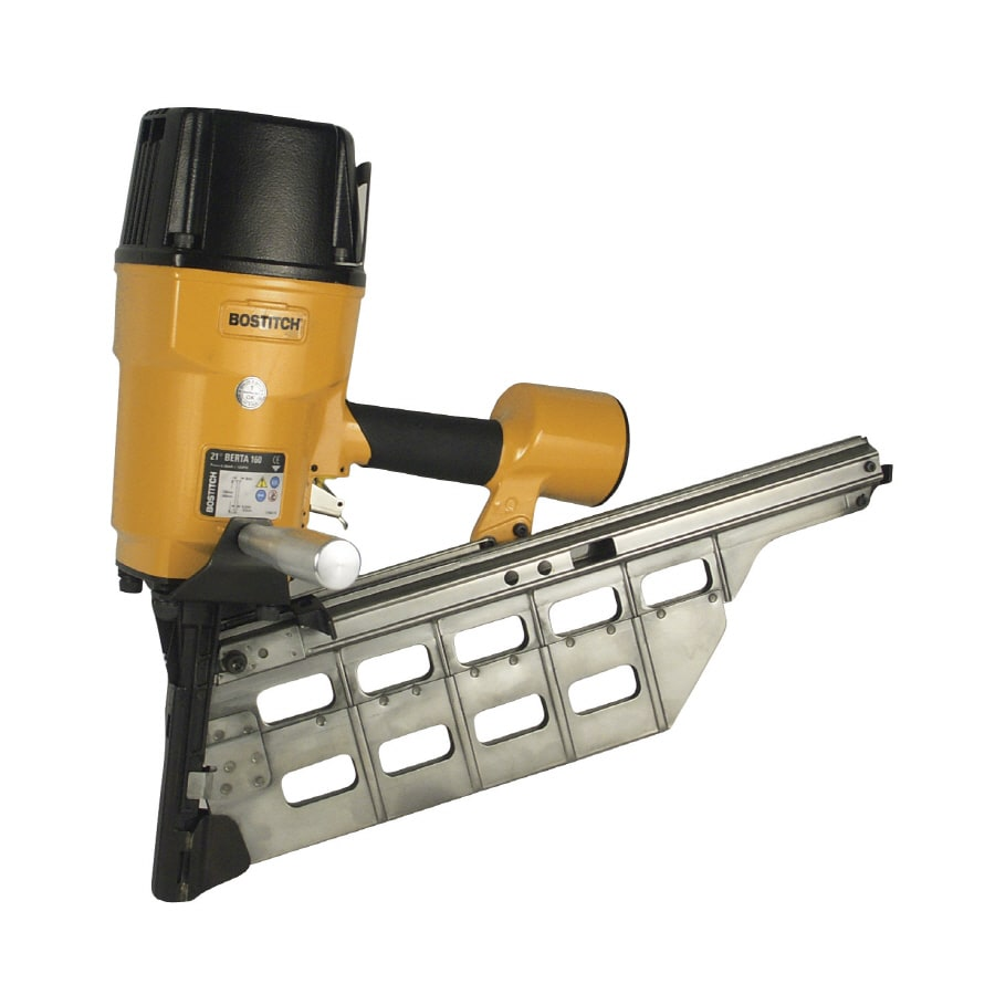 STANLEY-BOSTITCH 6.24-in x 0.165-in Roundhead Framing Pneumatic Nail Gun