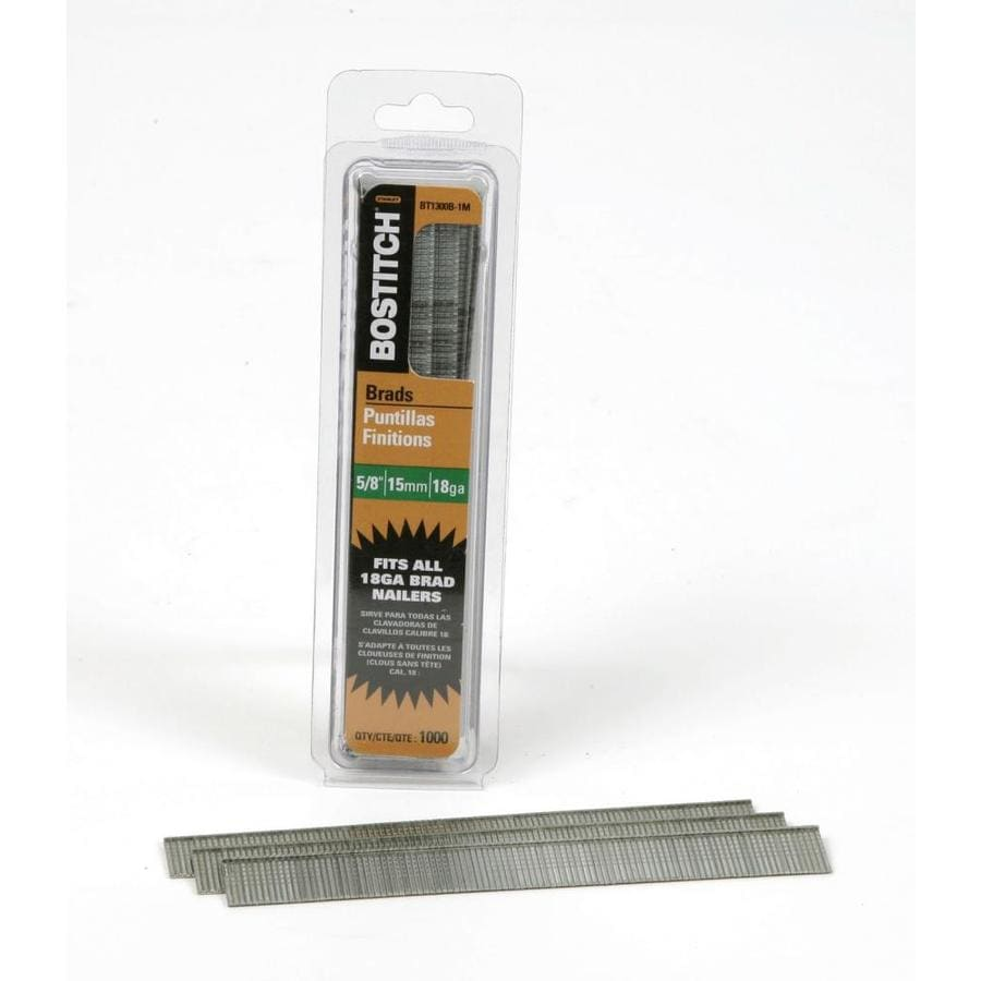 Bostitch 1000-Count 0.625-in Finishing Pneumatic Nails