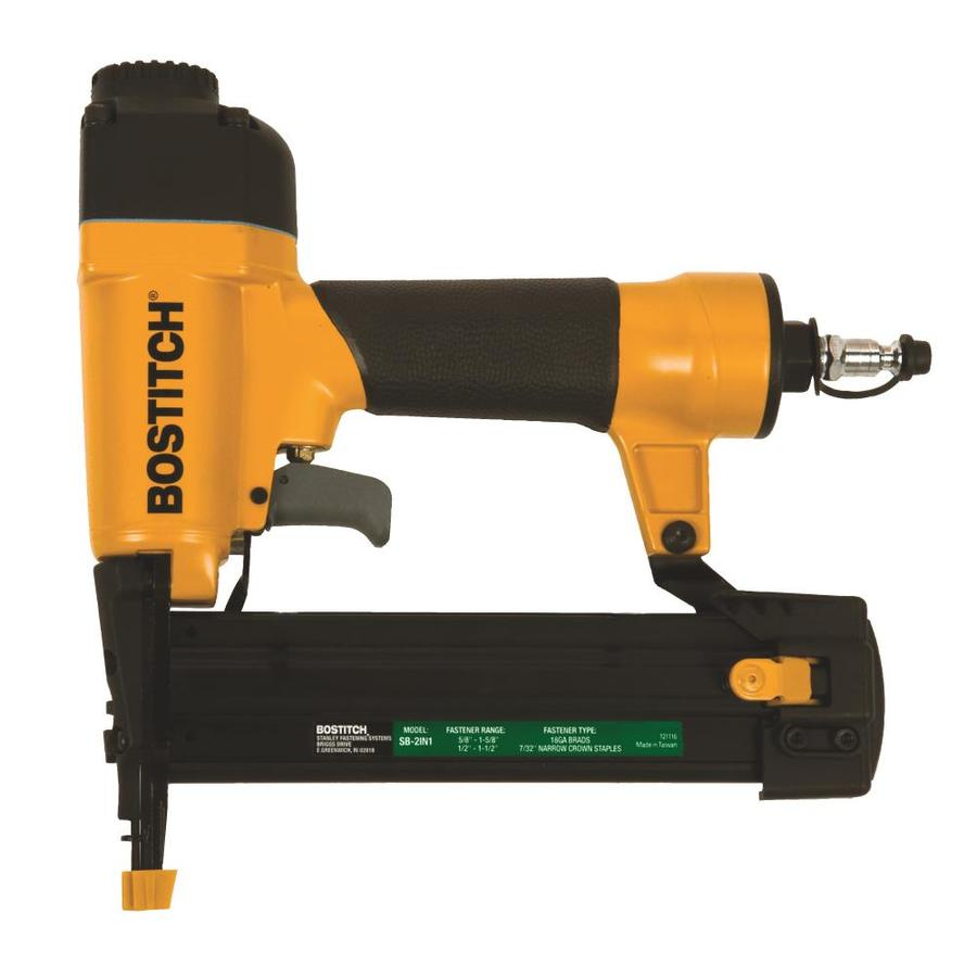 Bostitch 18 Gauge Pneumatic Finish Nailer In The Nailers Department At Lowes Com