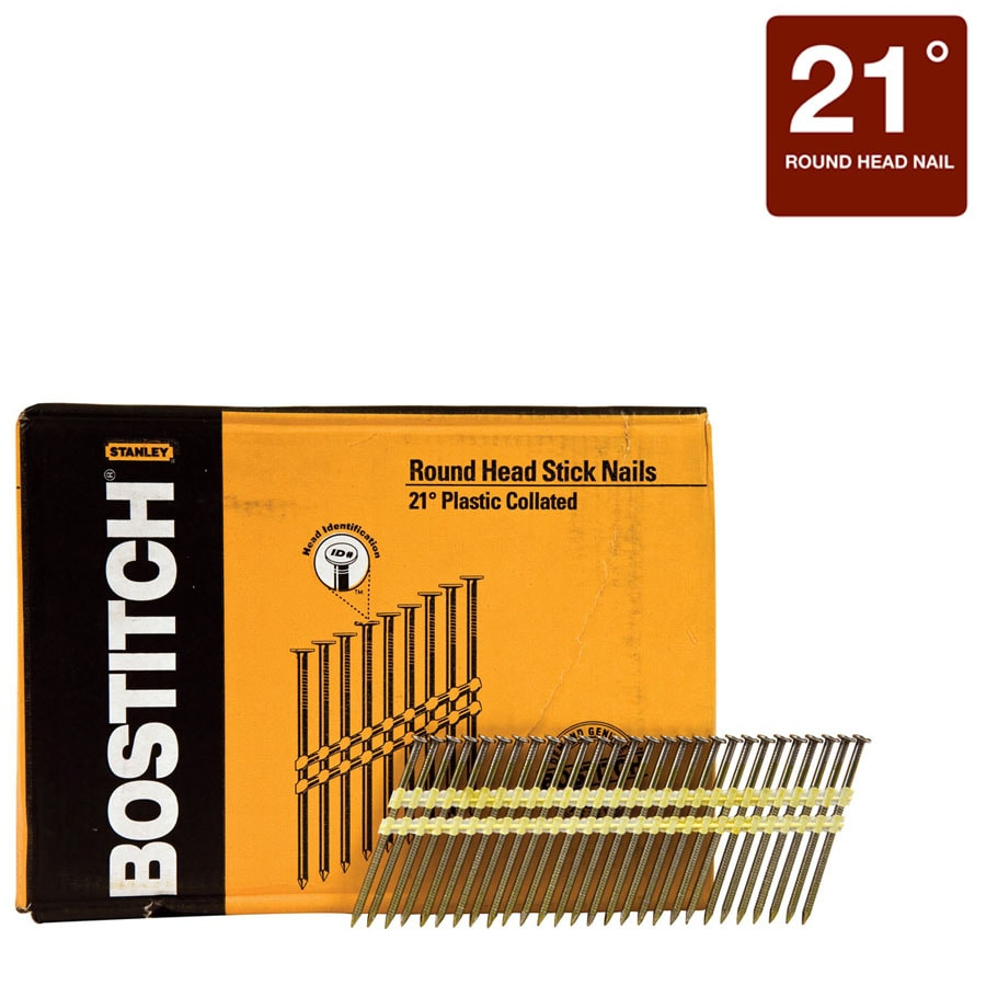 STANLEY-BOSTITCH 4000-Count 3-in Framing Pneumatic Nails