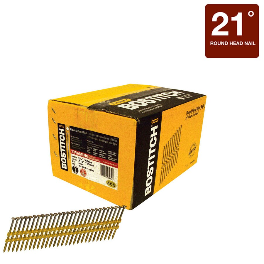 STANLEY-BOSTITCH 5000-Count 2.375-in Framing Pneumatic Nails