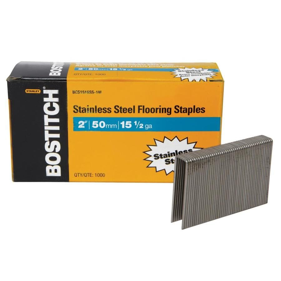 Bostitch 2-in Flooring Pneumatic Staples