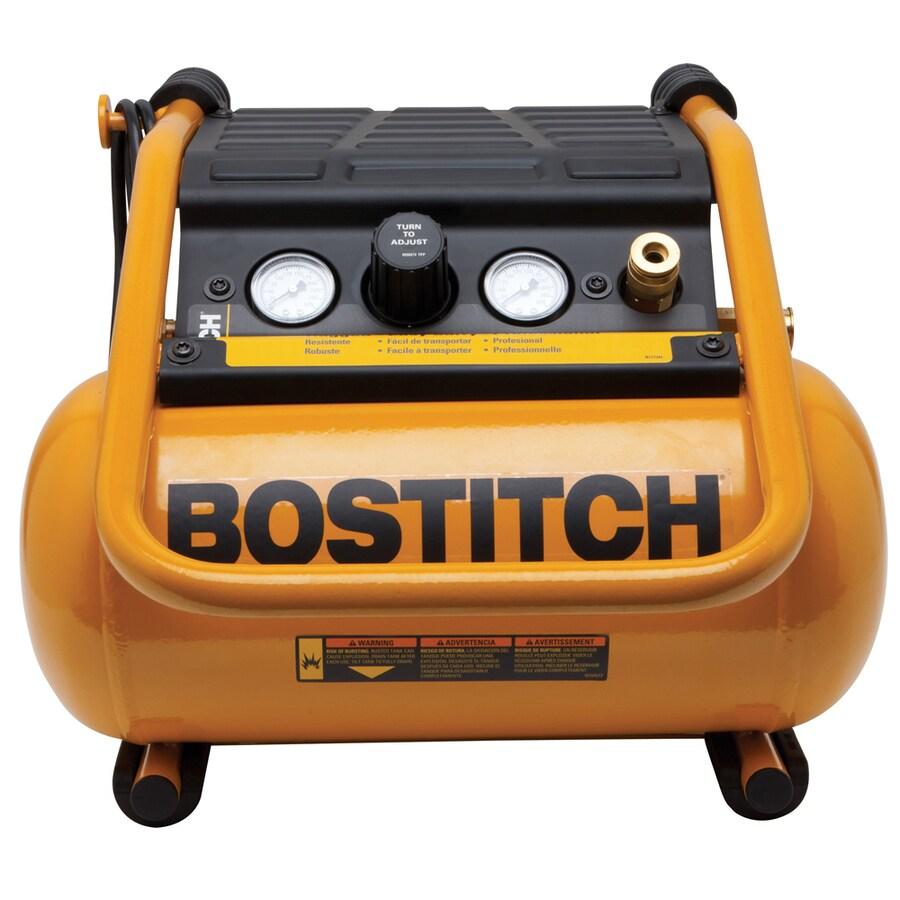 Bostitch 2.5-Gallon 150-PSI 120-Volt Horizontal Portable Electric Air Compressor