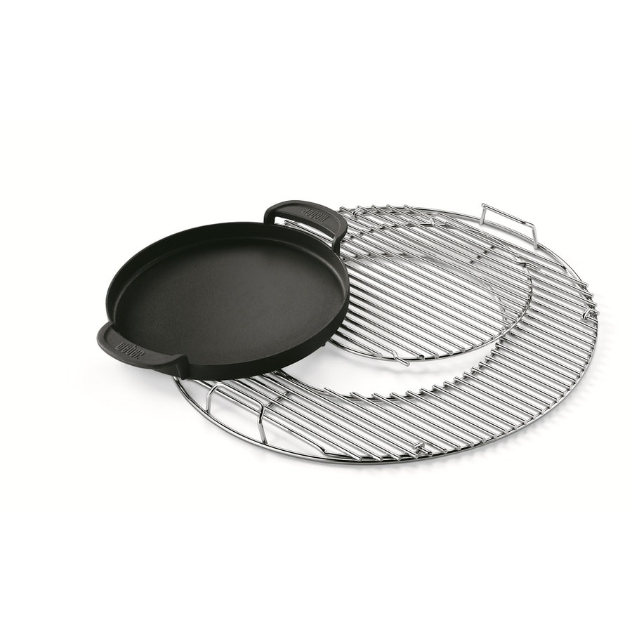 Weber Original 3-Pack Non-Stick Porcelain-Coated Metal Griddle